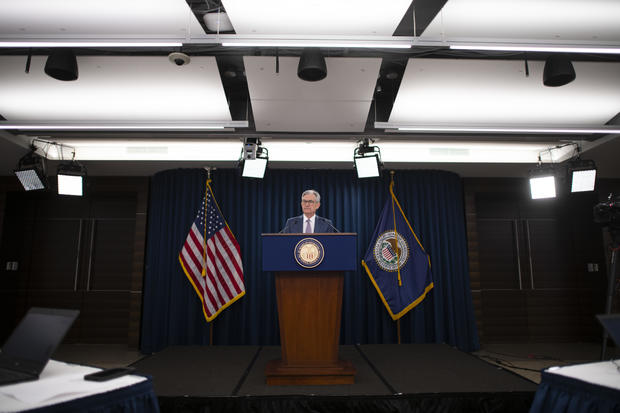 Federal Reserve Chair Powell Announces Half Percentage Point Interest Rate Cut
