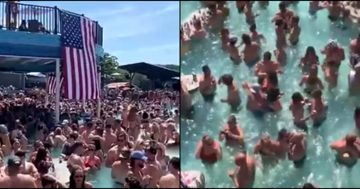"""No covid concerns"": Social media video shows Lake of the Ozarks packed for Memorial Day weekend"