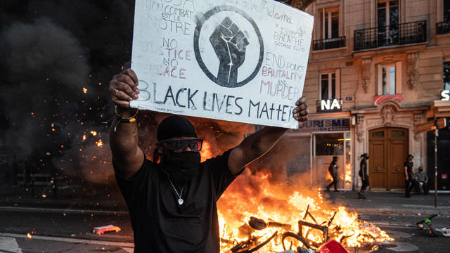 Anti-Racism Protest Continues Despite Ban in Paris