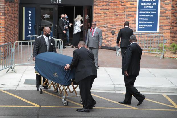 Memorial Service For George Floyd Held In Minneapolis