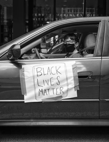 Black Lives Matter protest in Chicago