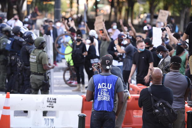 America Protest Atlanta