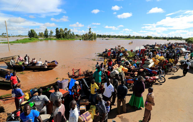 climate change flooding Africa