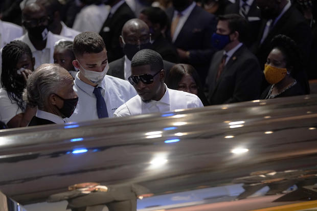 Private Funeral For George Floyd Takes Place In Houston