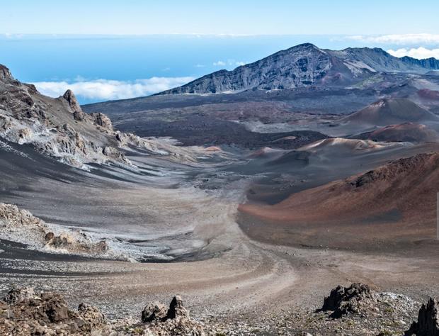 Haleakala National Park in Maui, Hawaii