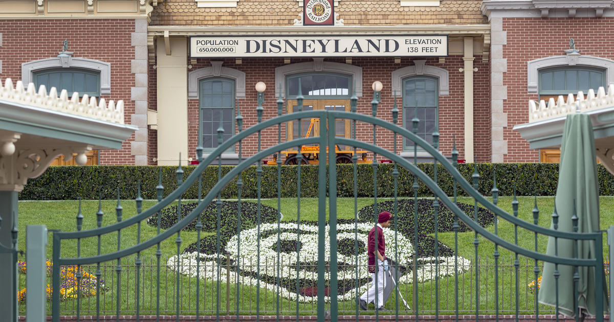 Disneyland to delay reopening theme parks and resort hotels - CBS News thumbnail