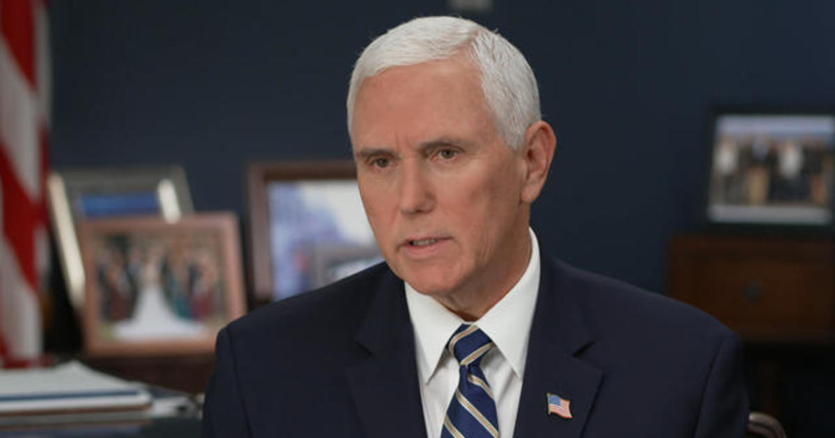 Transcript Vice President Mike Pence On Face The Nation June 28 2020 Cbs News