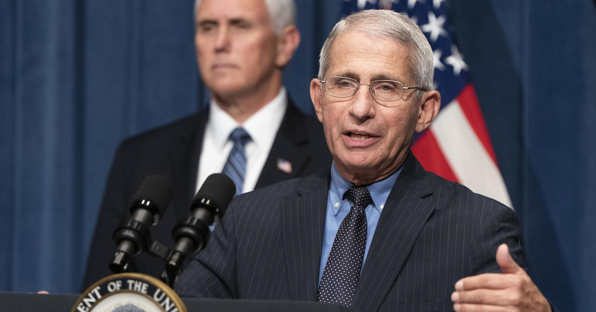 "Fauci warns coronavirus vaccine ""unlikely"" to offer herd immunity if portion of inhabitants refuse it - CBS News thumbnail"