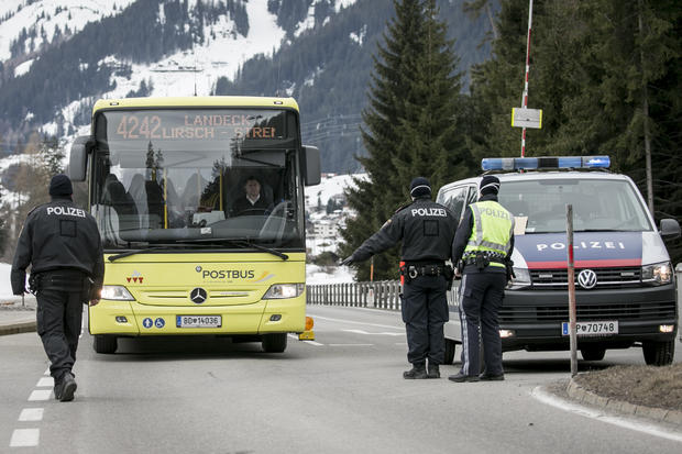 Tyrolian Regions Quarantined, Travel Restricted