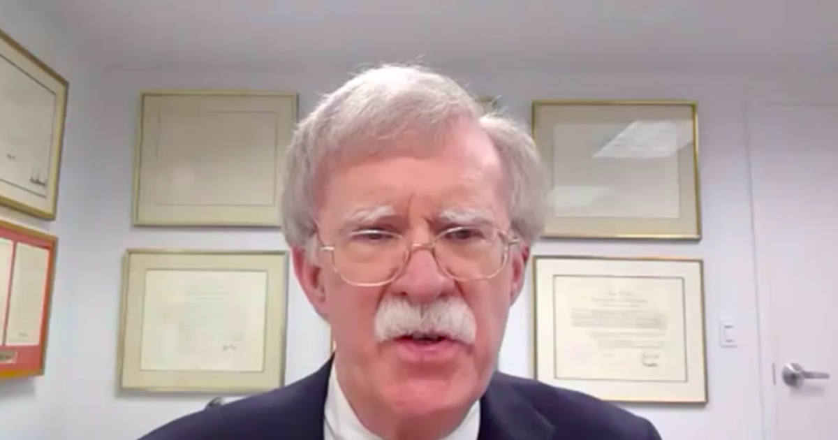 """Bolton says Russia controversy highlights Trump's """"lack of interest in intelligence"""""""