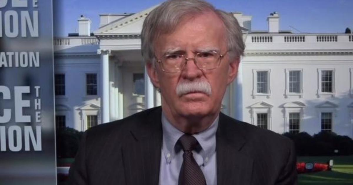 cbsn fusion bolton defends libya comments one day the president will learn a little history thumbnail 509740 640x360.'