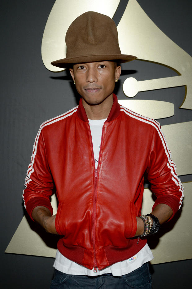 Hats off to Pharrell Williams
