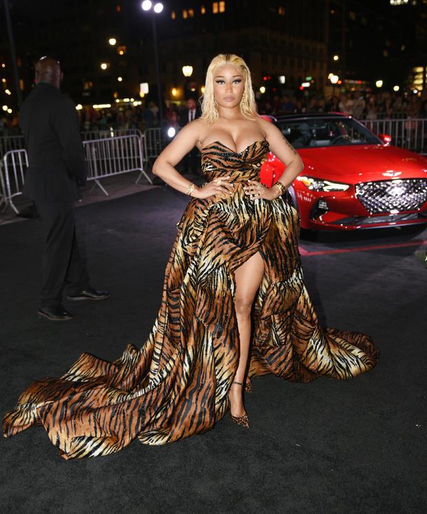 She is Nicki Minaj, hear her roar