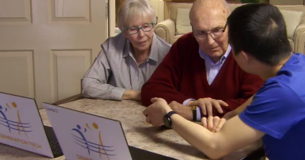 Gen Z volunteers are helping senior citizens fight lockdown loneliness with technology