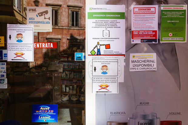 Pandemic: A snapshot of life in Rome