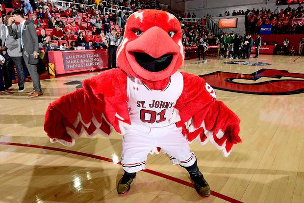 St. John's mascot thunderbird