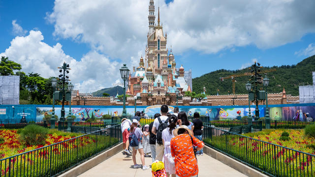 Hong Kong Disneyland Reopens Amid The Coronavirus Pandemic