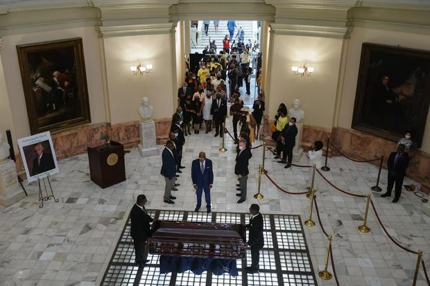 Civil Rights Leader C.T. Vivian Lies In State At Georgia Capitol