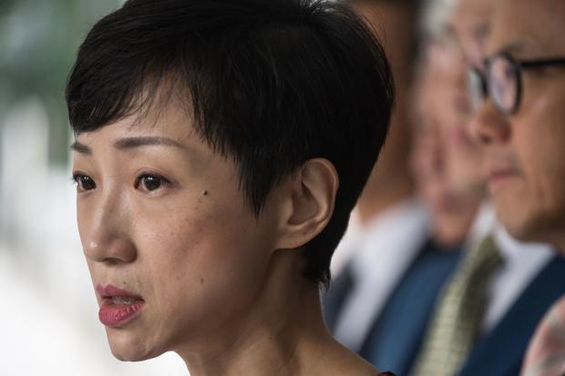 HONG KONG-CHINA-POLITICS-UNREST-CRIME