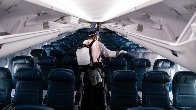 Delta Airlines Highlights Its Covid Safety Measures At National Airport