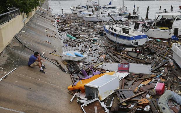 Hurricane Hanna — Corpus Christi, Texas