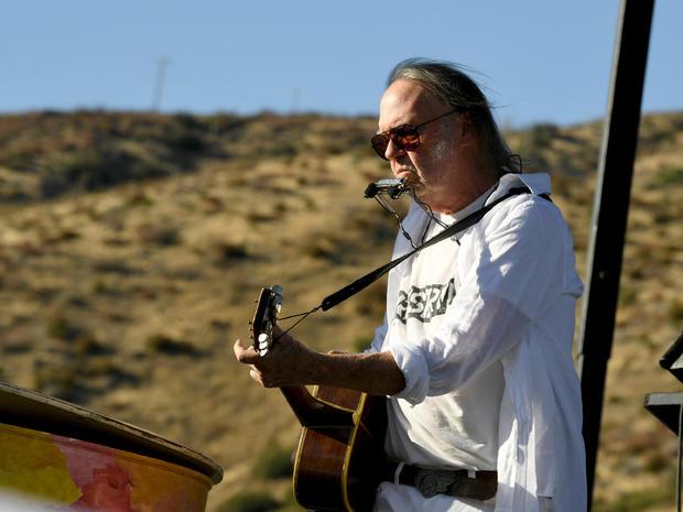 Neil Young Joe Biden