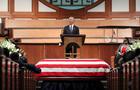 Funeral at Ebeneezer Baptist Church of U.S. Congressman John Lewis in Atlanta
