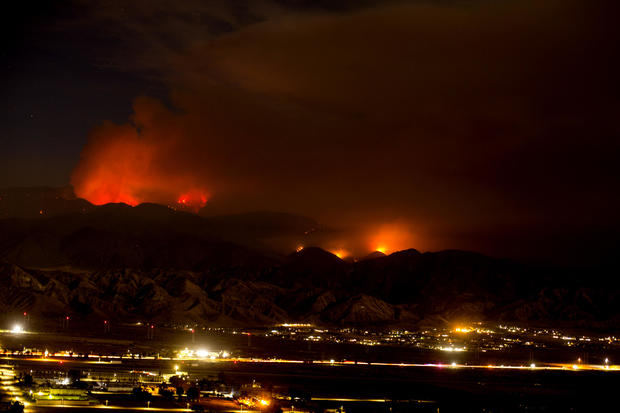 Apple Fire — Beaumont, California