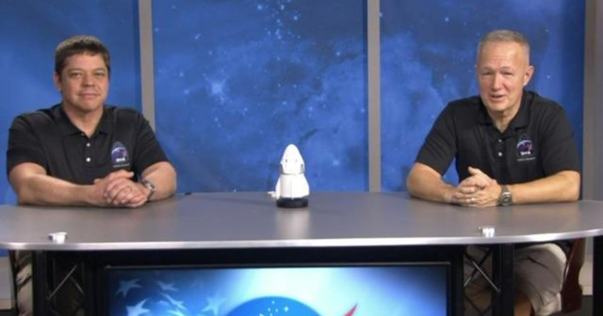Astronauts talk about successful SpaceX mission and splashdown