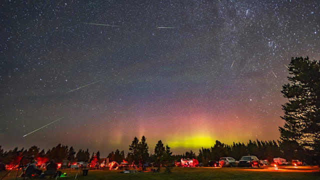 The Perseid meteor shower over the Saskatchewan Summer Star Party