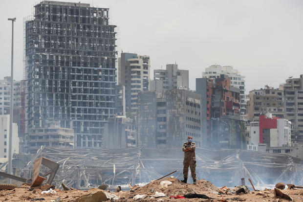 Beirut, Lebanon — explosion