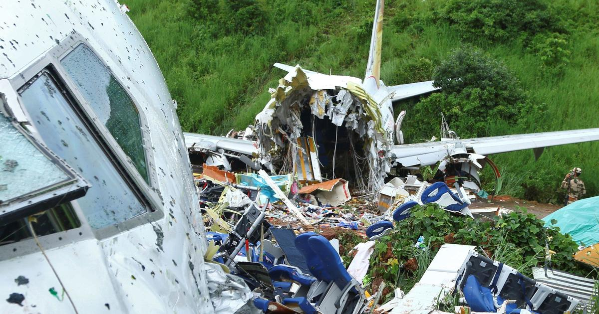 """Survivors recount frantic efforts to escape deadly India plane crash: """"I don't know how I made it"""" – CBS News"""