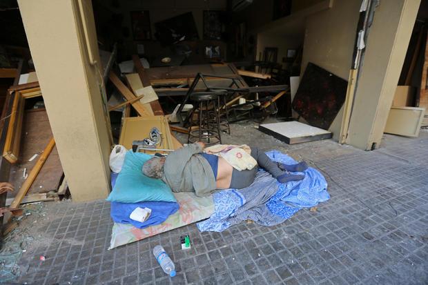 Beirut, Lebanon — explosion blast