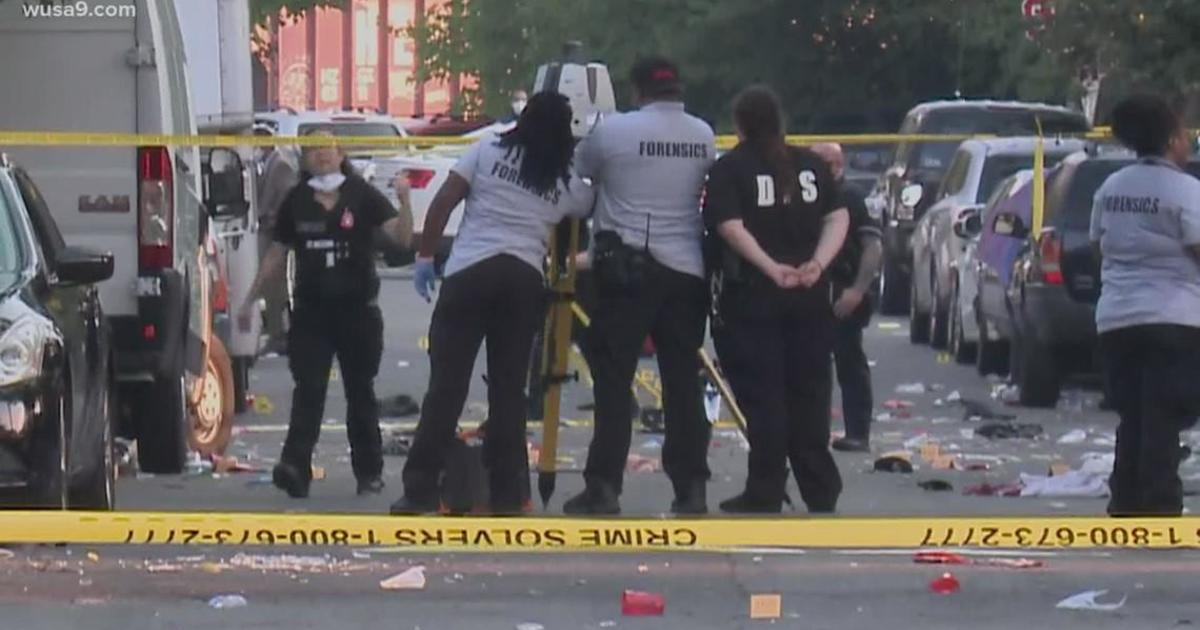 Washington D.C. shooting: 17-year-old killed 20 injured including police officer – CBS News