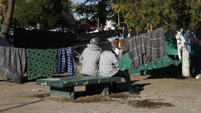 Migrant Tent Camps
