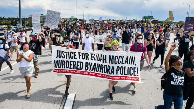 Elijah McClain protests
