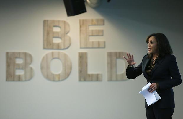 California DA Kamala Harris Speaks At Facebook HQ On Safer Internet Day