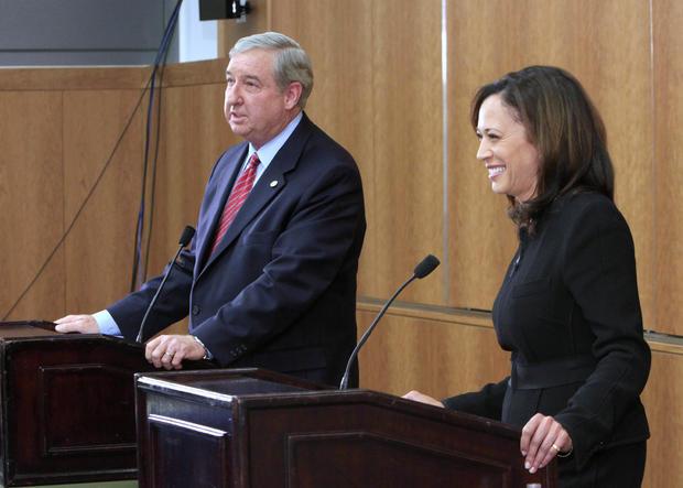 Kamala Harris at Attorney General debate