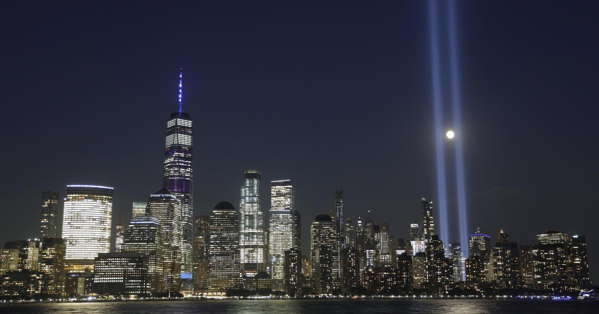 NYC's annual 9/11 light tribute canceled due to coronavirus - CBS News