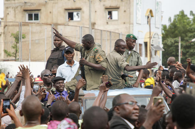 Malian President And Prime Minister Seized In Apparent Mutiny