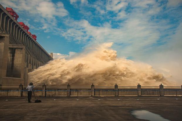 CHINA-ENVIRONMENT-FLOOD