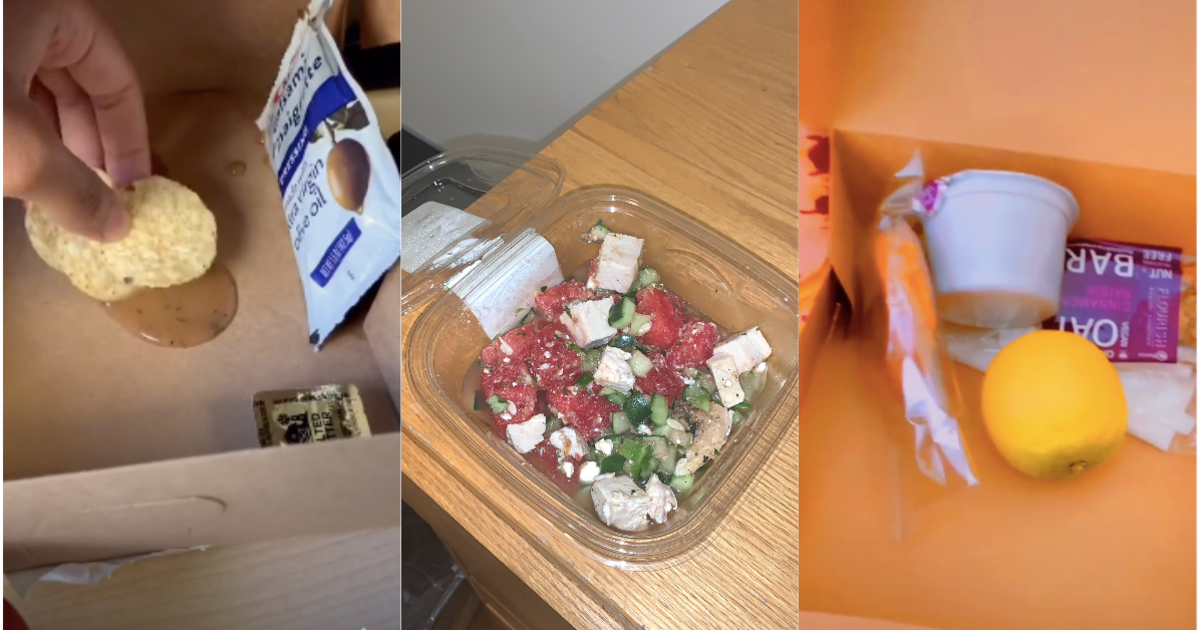 Students stuck in their dorms are exposing NYU's sad quarantine meals on TikTok— and demanding the school do better
