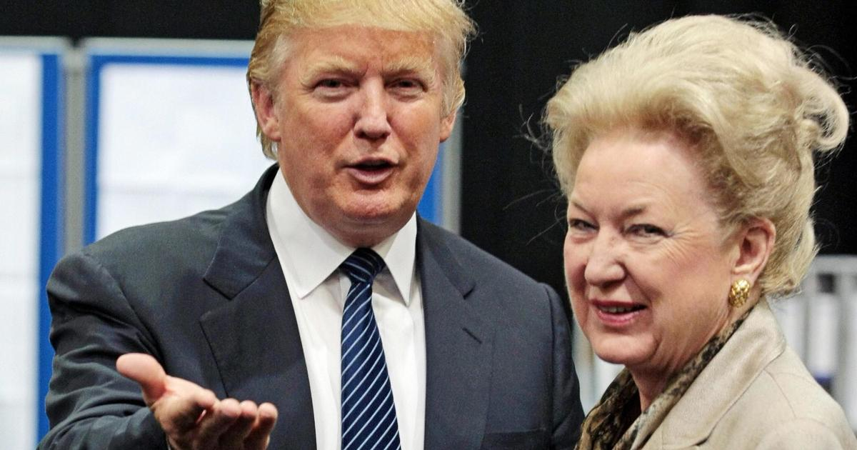 """Trump's sister Maryanne Trump Barry says president """"has no principles"""" in secretly recorded audio – CBS News"""