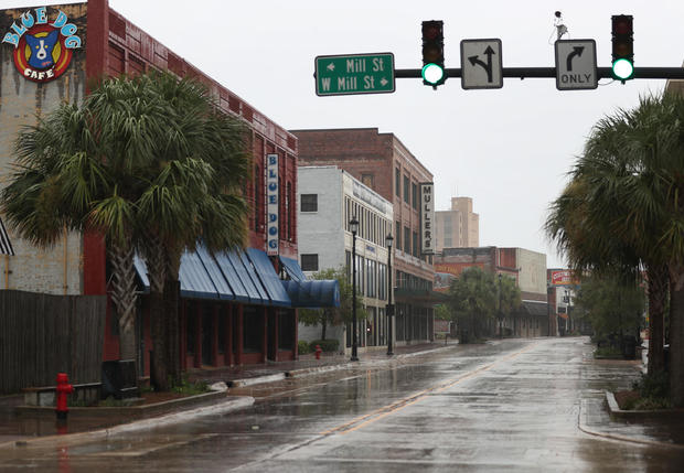Texas And Louisiana Prepare For Direct Hit From Hurricane Laura