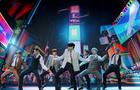 Band BTS performs during the 2020 MTV VMAs