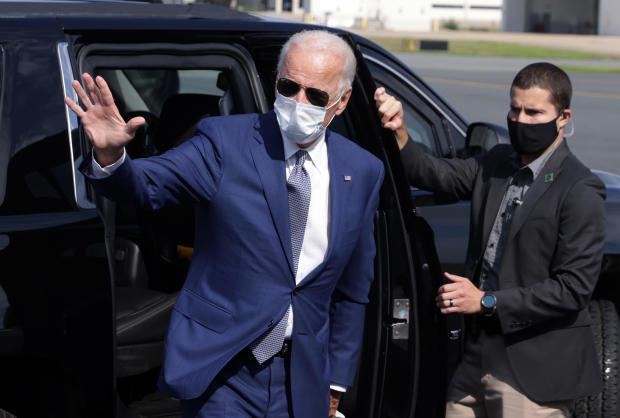Presidential Candidate Joe Biden Visits Kenosha, Wisconsin