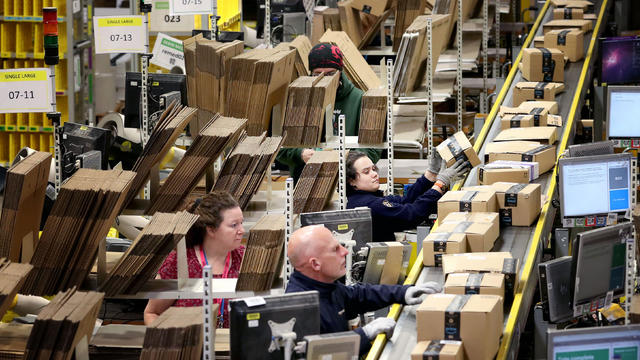 Amazon fulfillment centre