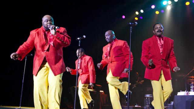 The Four Tops And The Temptations Perform At The O2 Arena In London