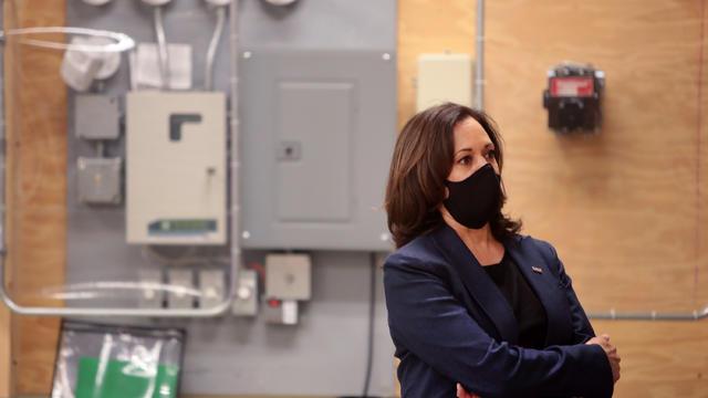Democratic Vice Presidential Nominee Kamala Harris Campaigns In Milwaukee