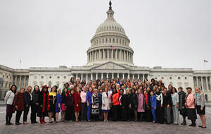 """Record number of women candidates """"are the heart of the resistance"""""""